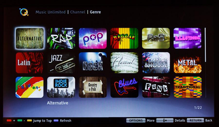 Music Unlimited de Sony