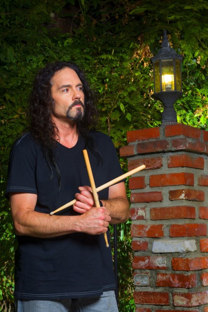 Nick Menza photographed in Studio City (CA) on 08/21/13.